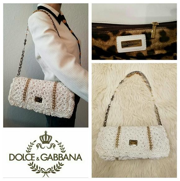 Dolce   Gabbana Handbags -  1795 DOLCE   GABBANA Miss Charles Crochet Bag 139b45872b